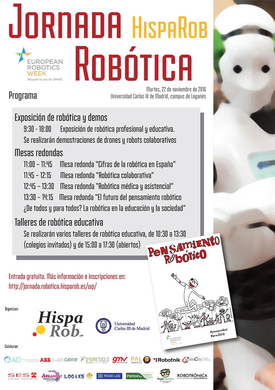 Cartel_Jornada Robótica HispaRob_