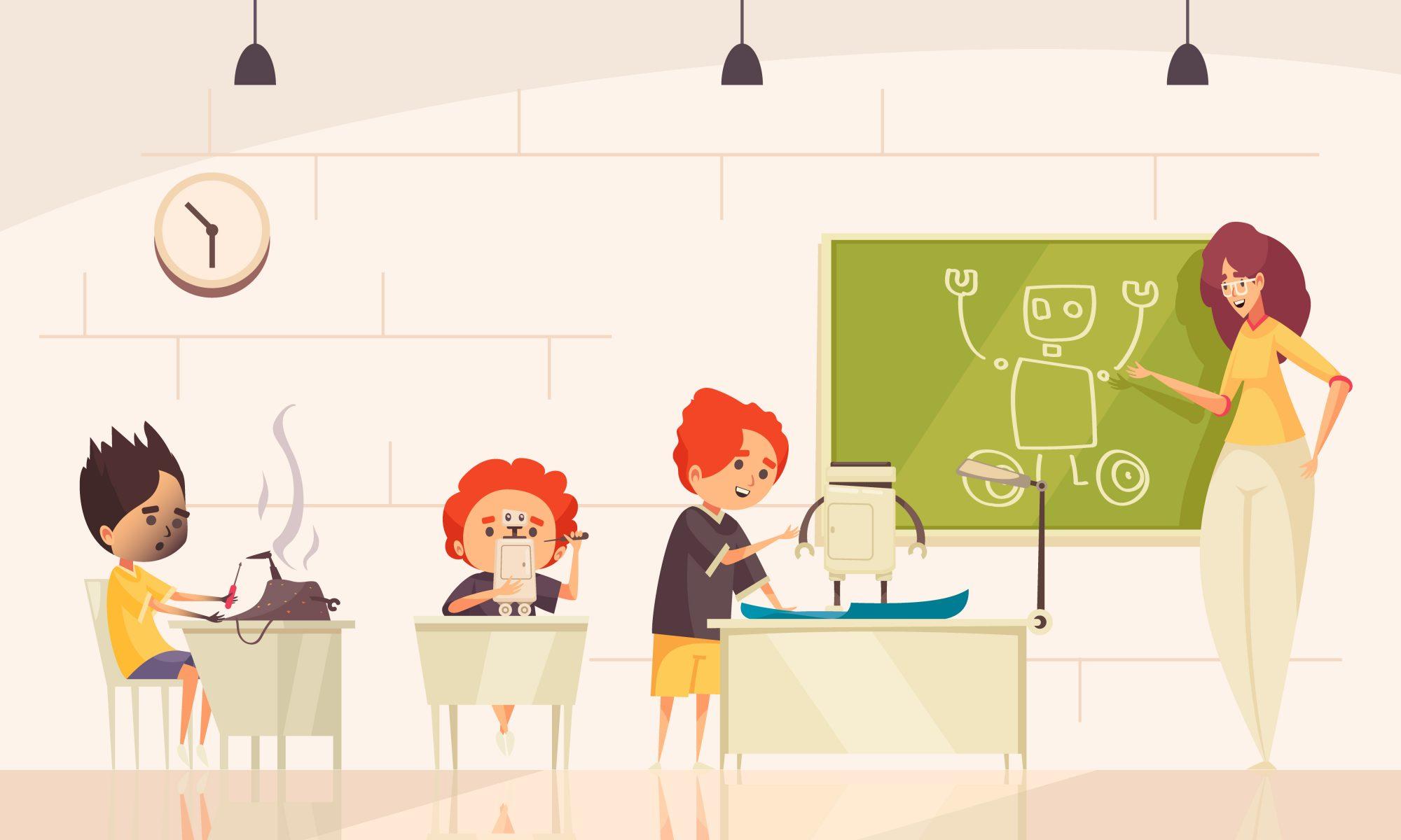 robótica educativa, clases extraescolares